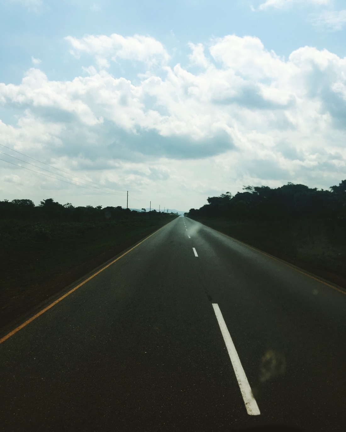 Road in Zambia