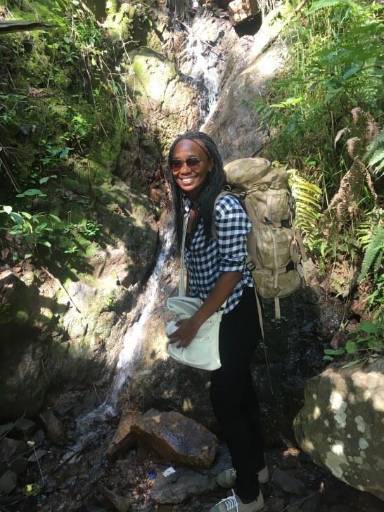Fountain on hike to Chitimba, Malawi