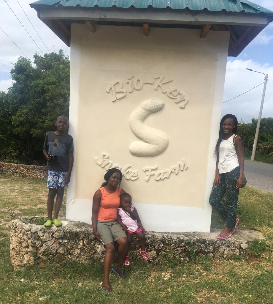 Outside the entrance to Bio-Ken Snake Farm